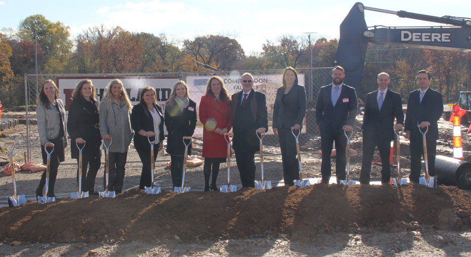 Whispering Heights Groundbreaking Ceremony